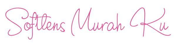 JUAL SOFTLENS MURAH