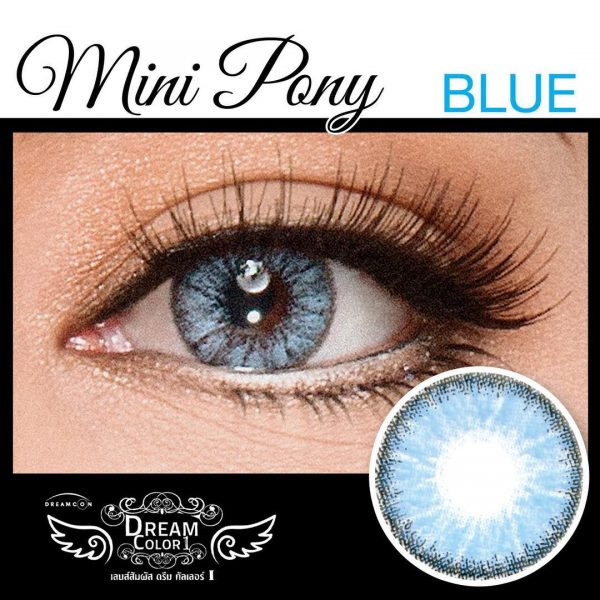 softlens dreamcolor mini pony blue