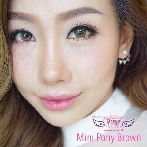softlens dreamcon mini pony brown