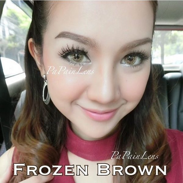 softlens dreamcolor frozen brown