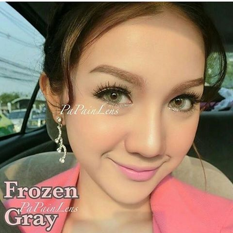 softlens frozen grey by dreamcolor. softlens abu abu terang dan cantik