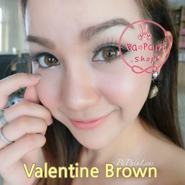 softlens dreamcon valentine brown