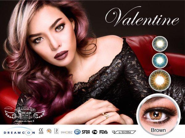 softlens dreamcon valentine brown
