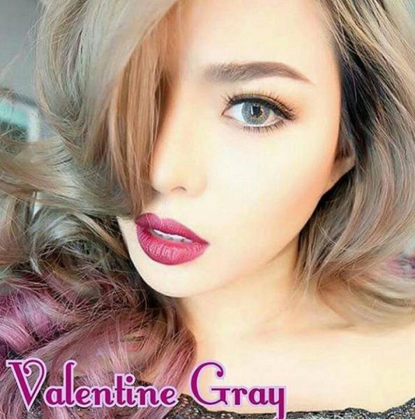 softlens dreamcon valentine grey