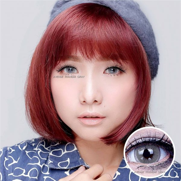 softlens Avenue Titanium Gray