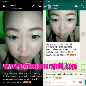 review barbie diamond grey sis nunu