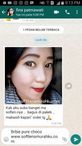 review barbie pure chococ sis fina