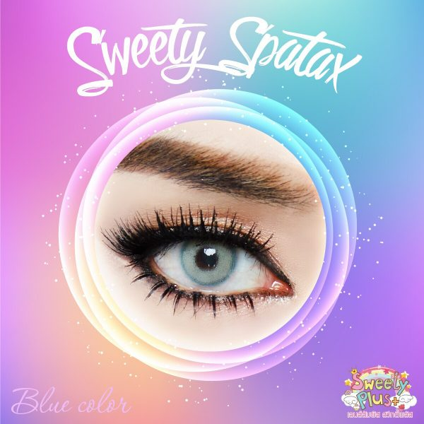 softlens sweety spartax blue