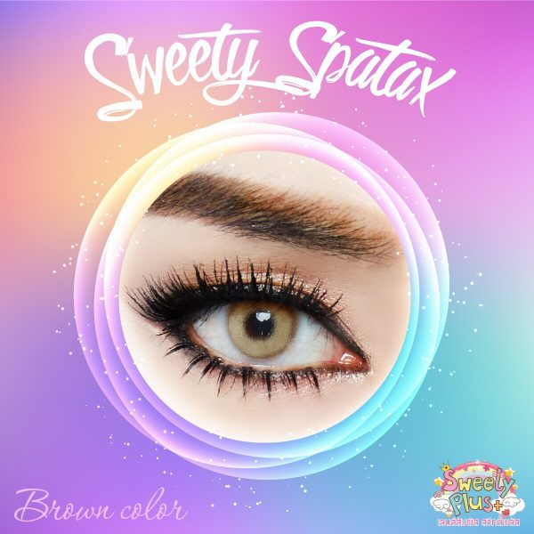 softlens sweety spartax brown