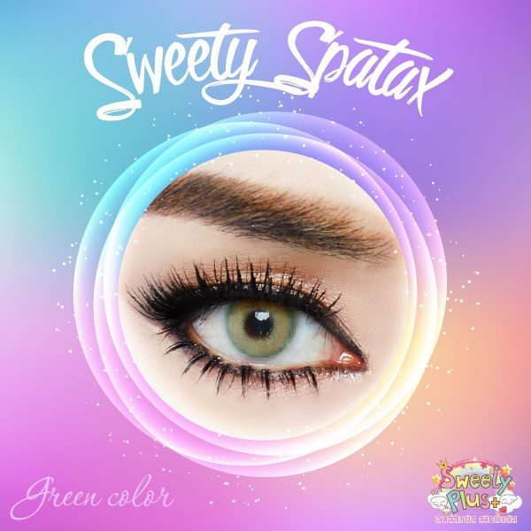 softlens sweety spartax green