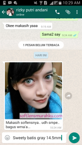 review sweety batis grey rizky