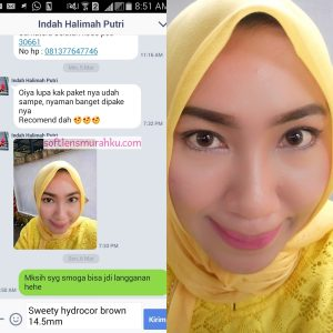 review sweety hydrocor brown sis indah