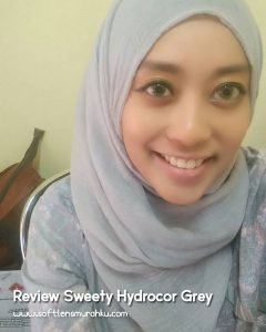 review sweety hydrocor grey