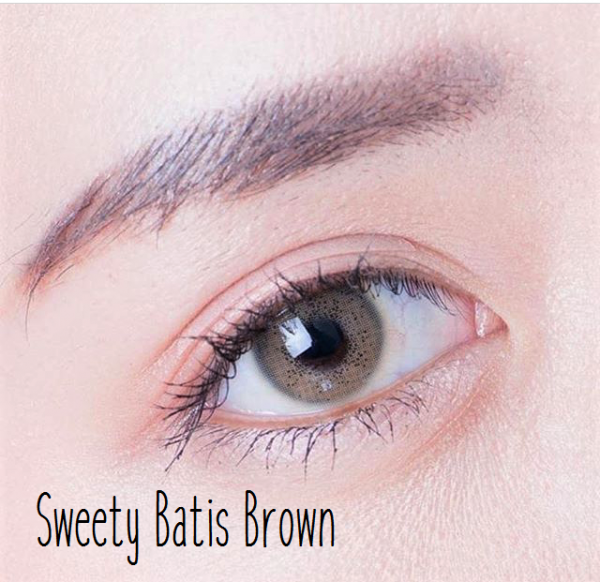 softlens sweety batis brown