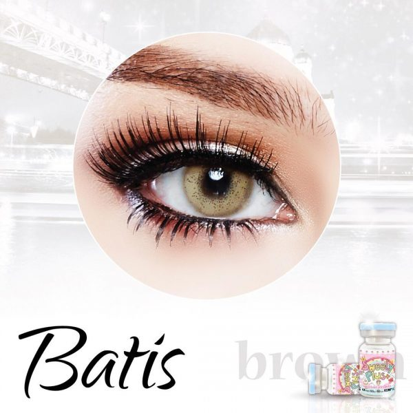 sweety batis brown softlens
