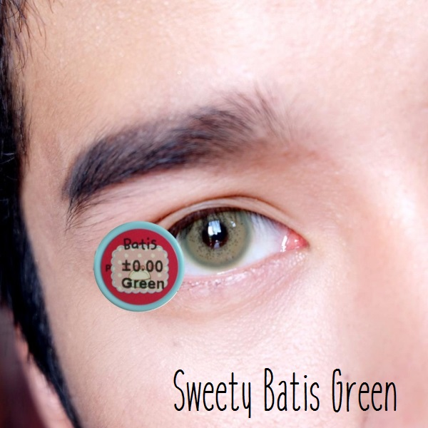 softlens sweety batis green