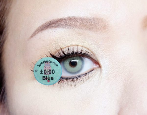 softlens sweety spartax blue detail