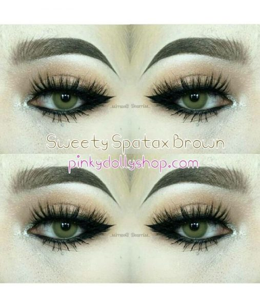 softlens sweety spatax brown