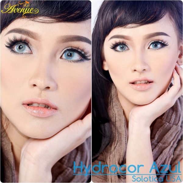 Softlens Avenue Solotica Hydrocor Azul
