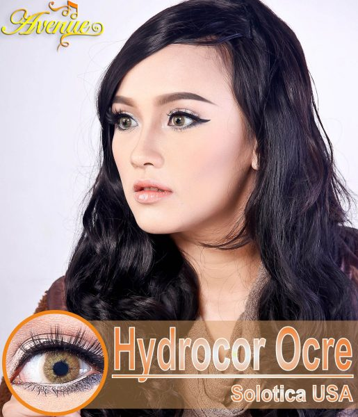 Softlens Avenue Solotica Hydrocor Ocre