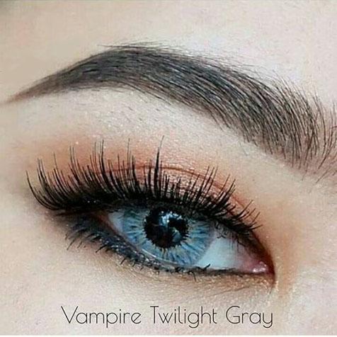softlens vampire twilight grey, softlens abu abu terang, softlens cantik