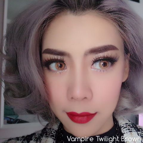 softlens vampire twilight brown