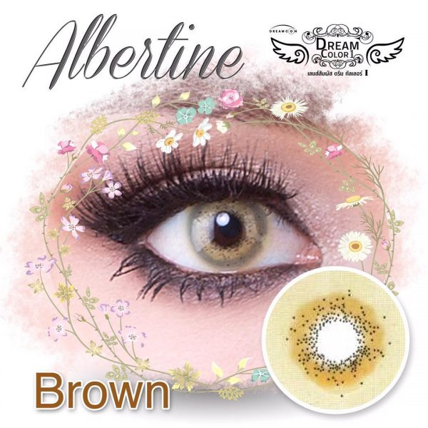 softlens dreamcon albertine brown