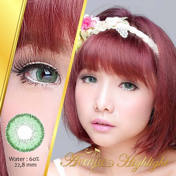 softlens avenue highlight green