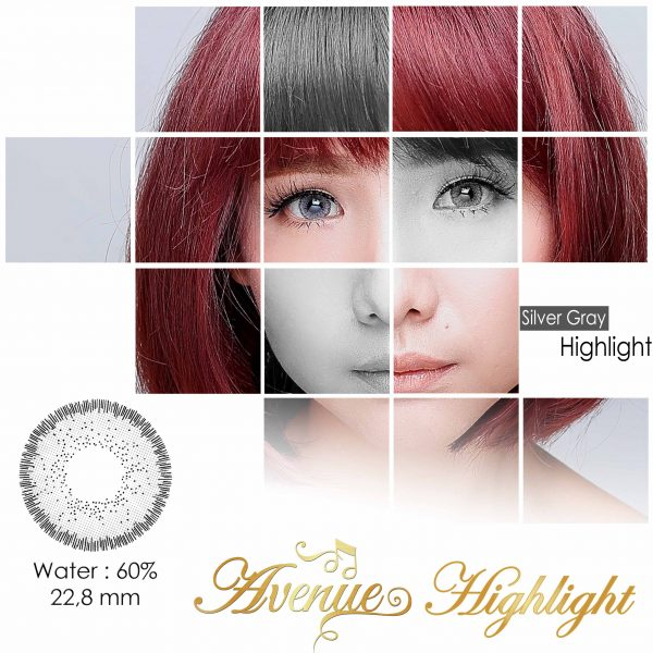 softlens avenue highlight grey