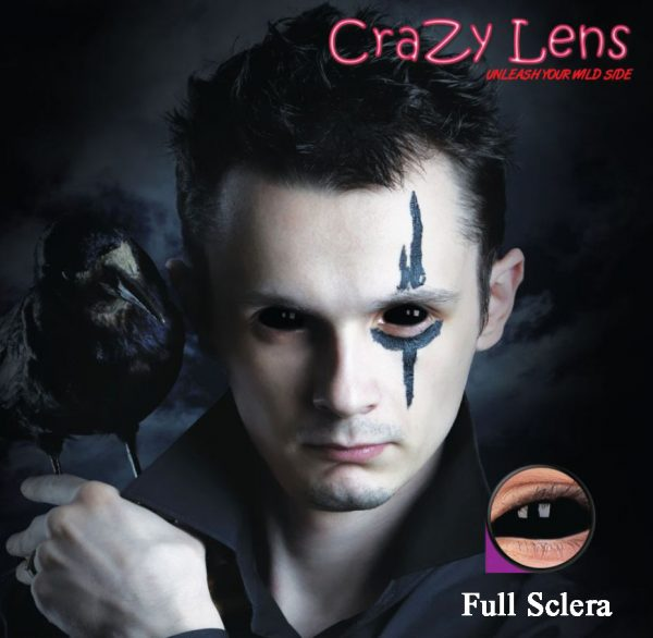 softlens full sclera black