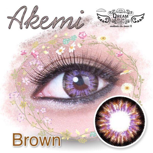 dreamcolor akemi brown