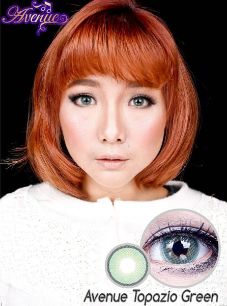 softlens avenue topazio green