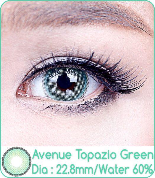 softlens avenue topazio green