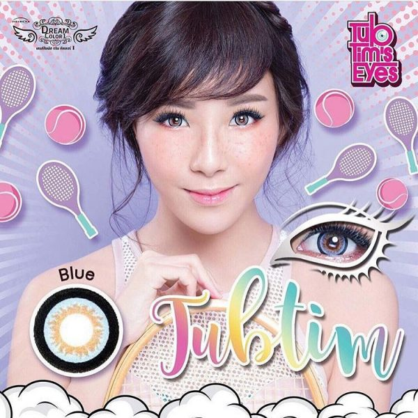 softlens dreamcon tubtim blue