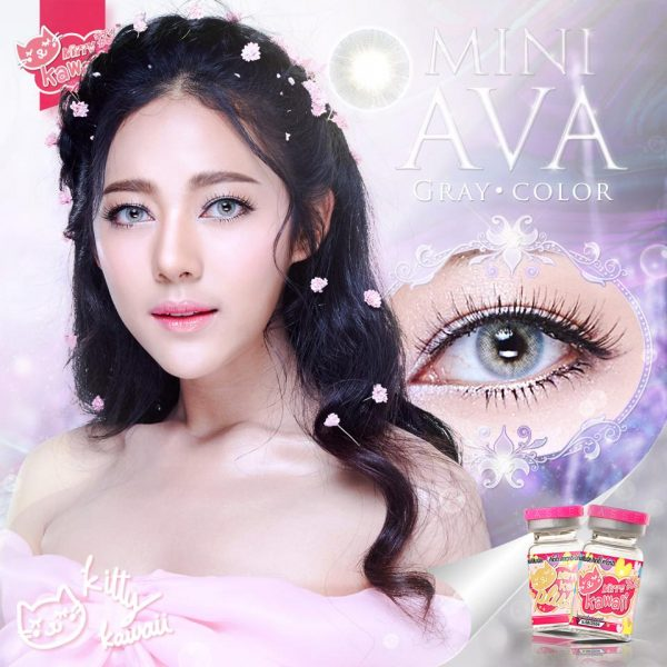 softlens mini ava grey by kitty kawaii
