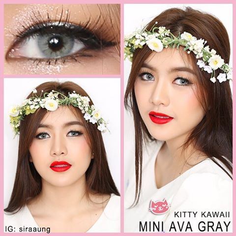 kitty kawaii mini ava grey
