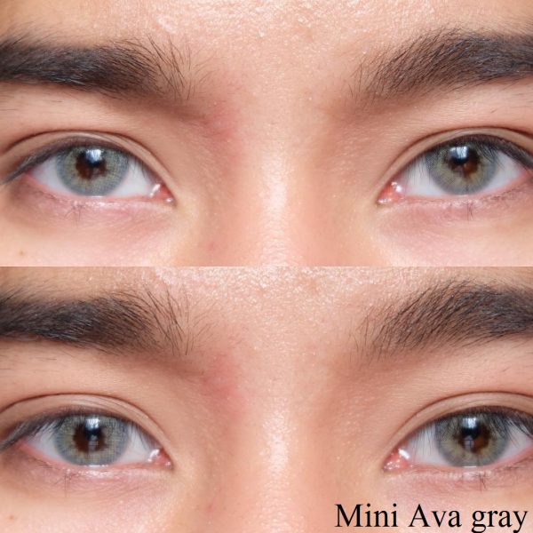 kitty kawaii mini ava grey softlens