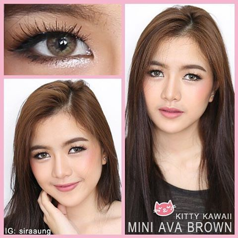 kitty kawaii mini ava brown