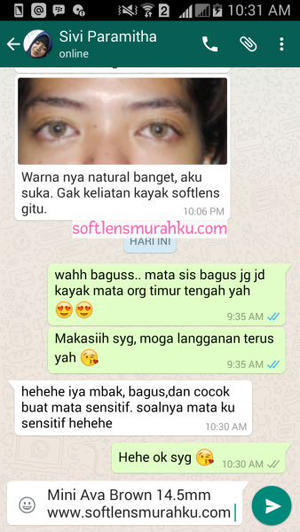 review mini ava brown sis sivi paramitha