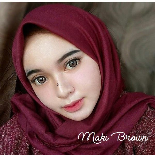 softlens maki brown