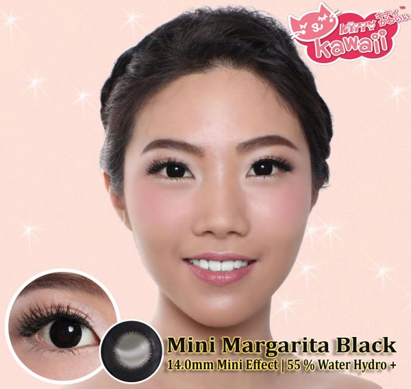 softlens Kitty kawai Mini Margarita Black