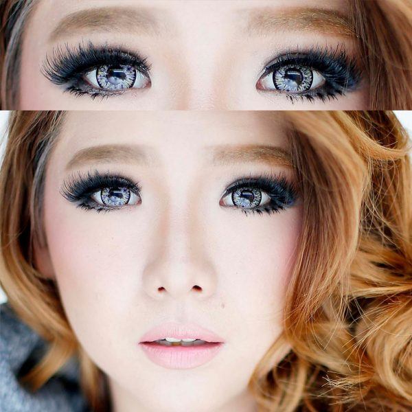 softlens dolly eye glamour grey