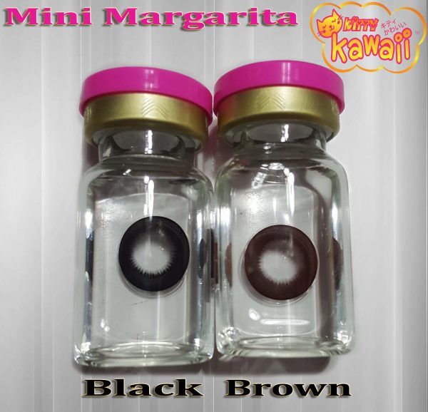 softlens kitty kawaii mini margarita black & choco