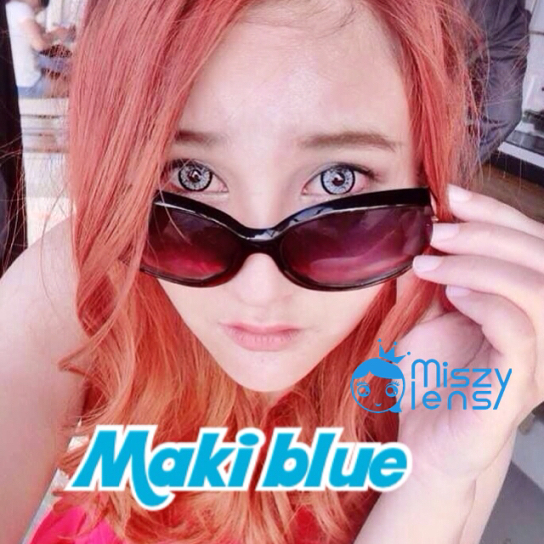 softlens dreamcon maki blue
