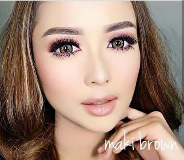 softlens dreamcolor maki brown