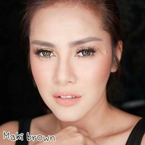 softlens dreamcon maki brown