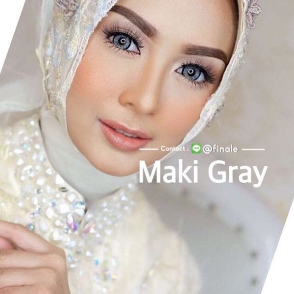 maki grey softlens