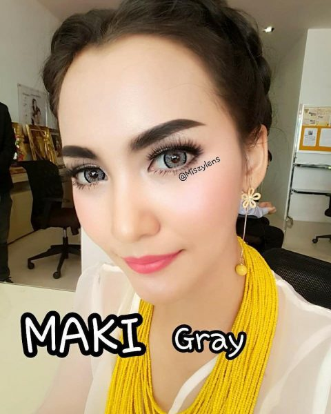 maki grey softlens dreamcolor