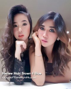review maki brown n blue
