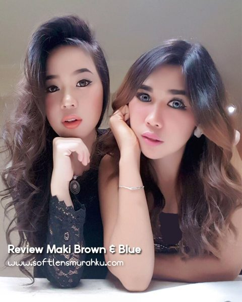 review maki brown n blue